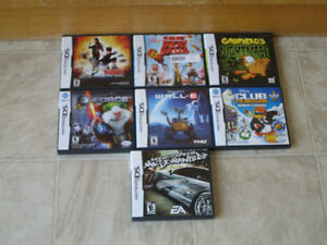 ~7 Nintendo Ds Game's 10.00 Each~