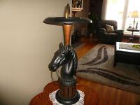 horse ashtray