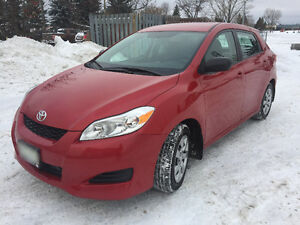 2014 Toyota Matrix - Low Mileage, Extended Warranty