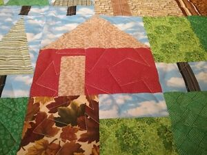 JUST REDUCED--Locally made Quilt   'Cabin in the Woods' Kingston Kingston Area image 4