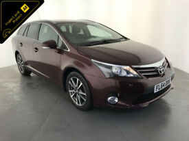 2014 64 TOYOTA AVENSIS ICON BUSINESS ED DIESEL 1 OWNER SERVICE HISTORY FINANCE