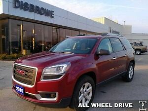 2016 GMC Acadia SLE-2  7 Passenger, Remote Start AWD