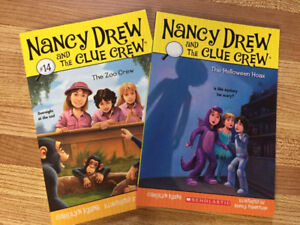 2 Nancy Drew & The Clue Crew Books (Kids 7+)