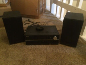 Sony Stereo with CD Player, Ipod Port, Speakers and Bluetooth