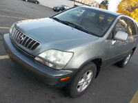 2003 Lexus RX 300 SUV, Crossover-Runs Exclnt-Lther Seat-Sun Roof
