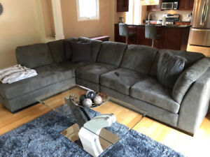 L-shape Sectional Couch for ONLY $1000.00 OBO