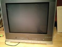 Toshiba TV with USB port, DVD and VHS