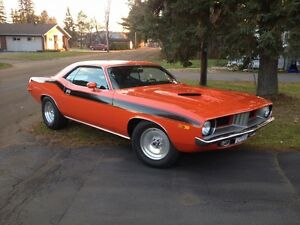 REAL DEAL #'s matching 72' CUDA 340 4spd documents code correct