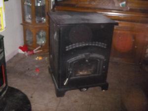 pellet stove King Ashley