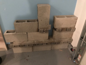 cinder blocks and bricks for your garden or yard.