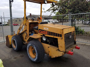 Case W4 Articulated Loader Tractor