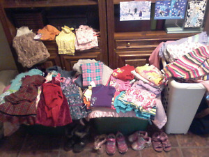 Girls 3T/4T Clothes Lot, More Pictures if interested.