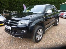 VOLKSWAGEN AMAROK 2.0BiTDi ( 180PS ) AUTO ULTIMATE 4MOTION, 22000 MILES ONLY
