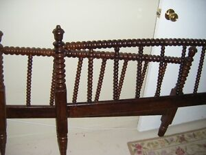 Antique Spindle Style Head and footboard