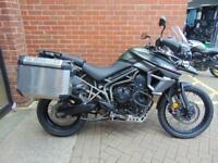 2016 (16) TRIUMPH TIGER 800 XCA TOURER - LOADS OF EXTRAS