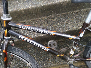 Raleigh (Sundowner/Ambush) Mountain Bikes (2 bikes: diff sizes)