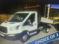 2014 64 FORD TRANSIT NEW SHAPE DROPSIDE TIPPER 125PSI LOW MILES