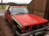 Subaru 4WD pick up Brat Brumby project for sale