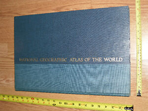 Atlas of the World - Maps National Geographic Society 1975 Map West Island Greater Montréal image 2