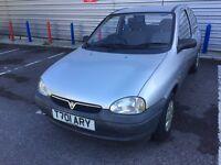 Vauxhall Corsa 1.0 Petrol 3Dr 1999 Low Miles