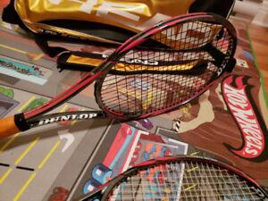 Raquettes tennis dunlop 300 tour+sac tennis head tour