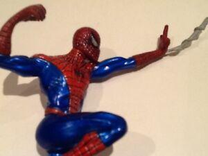 Marvel Titanium SPIDERMAN and metal villain Windsor Region Ontario image 5