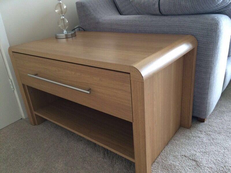 homebase hygena strand oak coffee table in heanor. Black Bedroom Furniture Sets. Home Design Ideas
