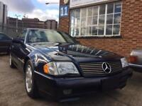 1995 Mercedes-Benz SL500 500SL Auto R129 11k Miles FSH (10 Bills) UK Registered.