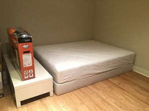 Selling queen size mattress & box spring