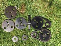 Reliant timin chains and spare cogs