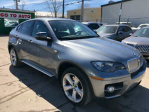 2009 BMW X6 50i xDrive SUV - Nav, camera, DVD, leather, roof