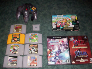 N64 + SNES + GAMECUBE