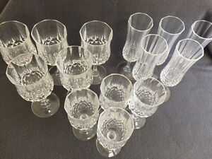 Collectible Antique Large Lot of Crystal Stemware London Ontario image 7