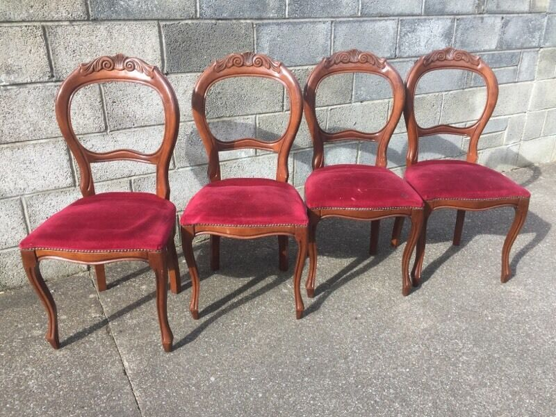 Bargain 4 X Balloon Back Chairs Just 163 120 Please Check