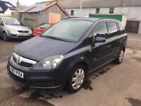 27 2007 Vauxhall Zafira 1.6i 16v ( a/c ) Life, WARRANTY, SPARE KEY, 7 SEATS
