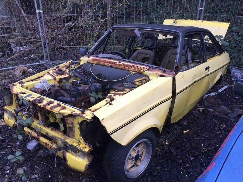 Old Ford Escort Mk2 RS1600 / RS2000 project car / spares / parts ...