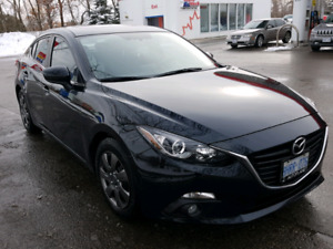 2015 MAZDA 3 GS (ONLY 21 K, NAVI, SUNROOF, 4DR, AUTO)