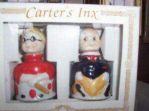 Carter's Inx Vintage Collectible Inkwells MIB Bowmanville