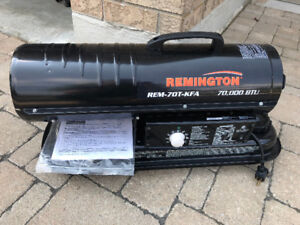 *NEW* Remington Kerosene Forced Air Heater