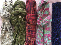 Selection of ladies scarves