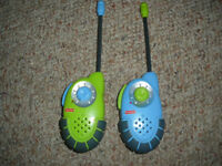 walkie-talkie (émetteur-récepteur) de Fisher Price
