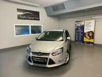 FORD FOCUS ZETEC TDCI Silver Manual Diesel, 2013, ONLY 63500 MILES ONLY £20 TAX