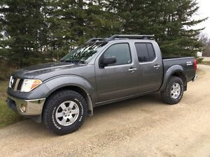 2008 Nissan Frontier Crew Cab 4x4 Nismo package.