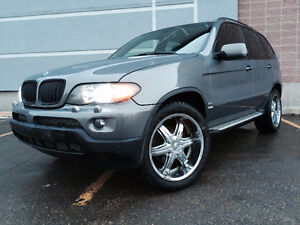 BMW X5 with custom features!! INCREDIBLE WINTER MACHINE!!