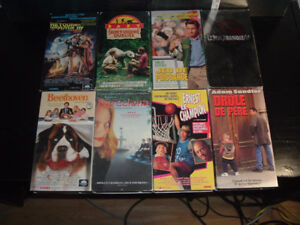 37 FRANCAIS FRENCH VHS MOVIES FOR KIDS AND ADULTS