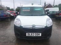 2014 63 Vauxhall Combo 1.3CDTi 16v ( 90PS ) L2H1 Combo 2300 Turbo Diesel 5 Speed