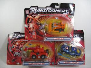 Transformers RID - Wedge, HighTower, Side Burn