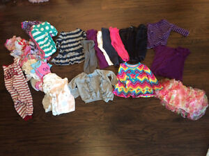 Girls 12-18 month fall/winter clothes Kingston Kingston Area image 1