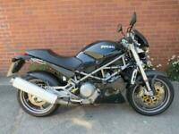 2002 DUCATI S4 MONSTER 916CC BLACK NATIONWIDE DELIVERY AVAILABLE