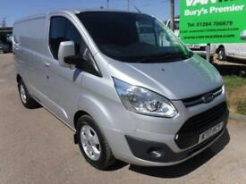 Ford Transit Custom 2.0 TDCi 290 L1H1 Limited Panel Van 5dr (EU6) DIESEL 2017/17